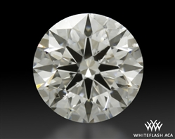 1.206 ct I SI2 A CUT ABOVE® Hearts and Arrows Super Ideal Round Cut Loose Diamond