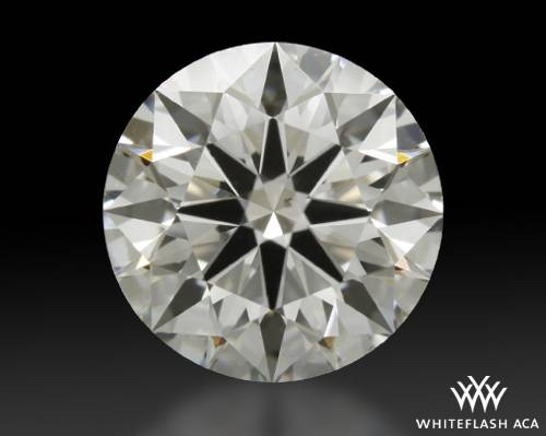 1.212 ct I SI1 A CUT ABOVE® Hearts and Arrows Super Ideal Round Cut Loose Diamond