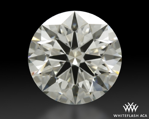 1.142 ct J VS1 A CUT ABOVE® Hearts and Arrows Super Ideal Round Cut Loose Diamond