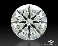 1.133 ct H VS1 A CUT ABOVE® Hearts and Arrows Super Ideal Round Cut Loose Diamond