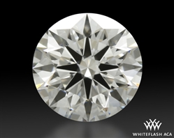 1.11 ct F VVS2 A CUT ABOVE® Hearts and Arrows Super Ideal Round Cut Loose Diamond