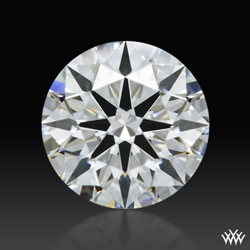 1.101 ct F VS1 A CUT ABOVE® Hearts and Arrows Super Ideal Round Cut Loose Diamond