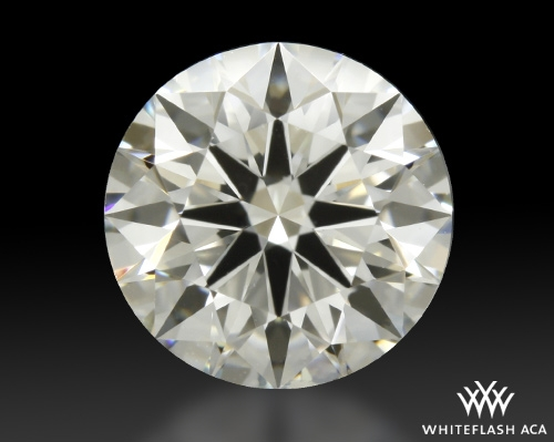 1.204 ct J SI1 A CUT ABOVE® Hearts and Arrows Super Ideal Round Cut Loose Diamond