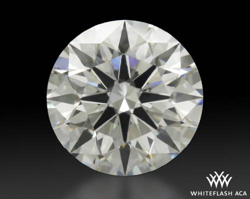 1.118 ct H SI1 A CUT ABOVE® Hearts and Arrows Super Ideal Round Cut Loose Diamond