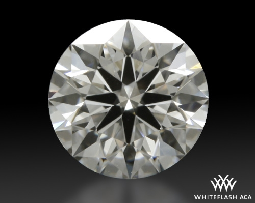 0.507 ct E VVS1 A CUT ABOVE® Hearts and Arrows Super Ideal Round Cut Loose Diamond