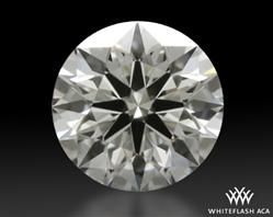 0.507 ct E VVS1 A CUT ABOVE® Hearts and Arrows Super Ideal Round Cut Loose Diamond