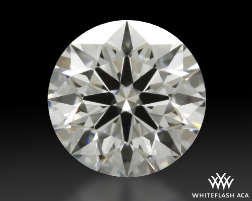 0.504 ct F VS1 A CUT ABOVE® Hearts and Arrows Super Ideal Round Cut Loose Diamond