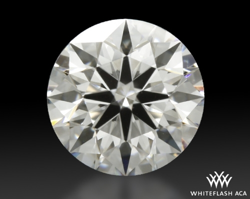 0.512 ct F VVS2 A CUT ABOVE® Hearts and Arrows Super Ideal Round Cut Loose Diamond
