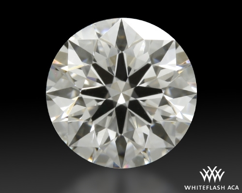 0.518 ct E VVS2 A CUT ABOVE® Hearts and Arrows Super Ideal Round Cut Loose Diamond