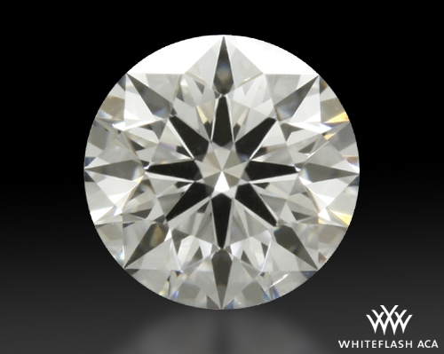 0.543 ct F SI1 A CUT ABOVE® Hearts and Arrows Super Ideal Round Cut Loose Diamond