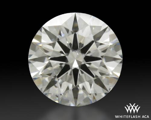 0.546 ct G SI1 A CUT ABOVE® Hearts and Arrows Super Ideal Round Cut Loose Diamond