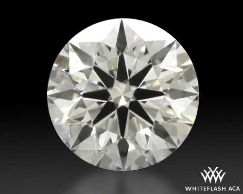 0.566 ct G VS2 A CUT ABOVE® Hearts and Arrows Super Ideal Round Cut Loose Diamond