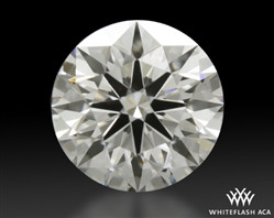 0.712 ct G SI1 A CUT ABOVE® Hearts and Arrows Super Ideal Round Cut Loose Diamond