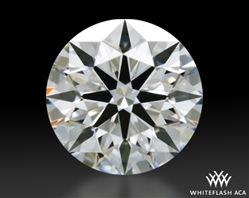 0.406 ct G VS1 A CUT ABOVE® Hearts and Arrows Super Ideal Round Cut Loose Diamond
