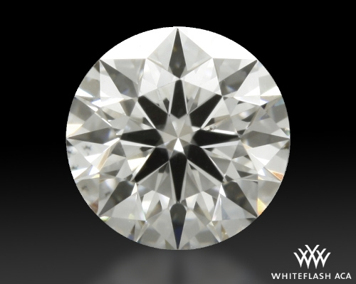 0.404 ct G SI1 A CUT ABOVE® Hearts and Arrows Super Ideal Round Cut Loose Diamond