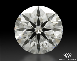 0.403 ct F VS1 A CUT ABOVE® Hearts and Arrows Super Ideal Round Cut Loose Diamond