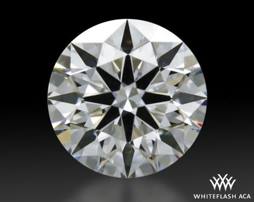 0.413 ct E VS1 A CUT ABOVE® Hearts and Arrows Super Ideal Round Cut Loose Diamond