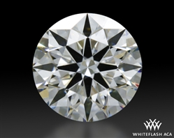 0.413 ct E VS1 A CUT ABOVE® Hearts and Arrows Super Ideal Round Cut Loose Diamond