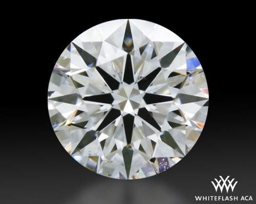 0.513 ct F SI1 A CUT ABOVE® Hearts and Arrows Super Ideal Round Cut Loose Diamond