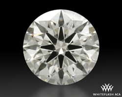 0.307 ct I VS2 A CUT ABOVE® Hearts and Arrows Super Ideal Round Cut Loose Diamond