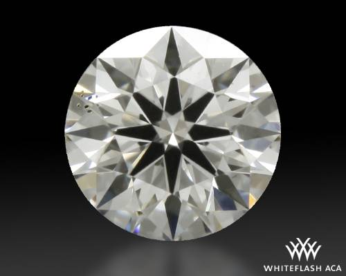 0.338 ct H SI1 A CUT ABOVE® Hearts and Arrows Super Ideal Round Cut Loose Diamond