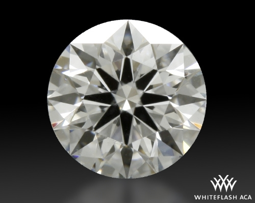 0.361 ct D VVS1 A CUT ABOVE® Hearts and Arrows Super Ideal Round Cut Loose Diamond