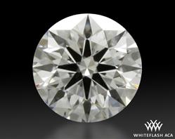 0.361 ct D VVS1 A CUT ABOVE® Hearts and Arrows Super Ideal Round Cut Loose Diamond