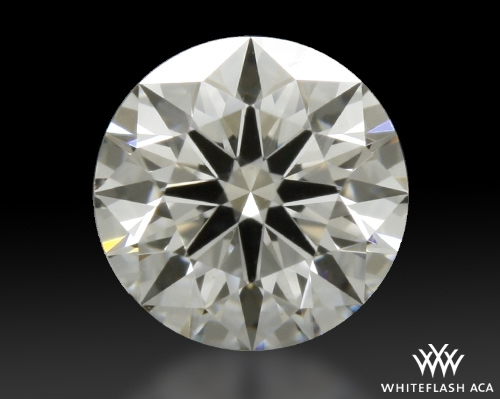 0.38 ct H VS1 A CUT ABOVE® Hearts and Arrows Super Ideal Round Cut Loose Diamond