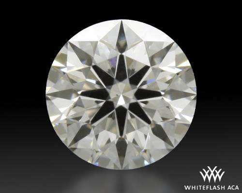 0.405 ct H SI1 A CUT ABOVE® Hearts and Arrows Super Ideal Round Cut Loose Diamond
