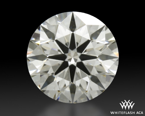 0.405 ct G VS1 A CUT ABOVE® Hearts and Arrows Super Ideal Round Cut Loose Diamond