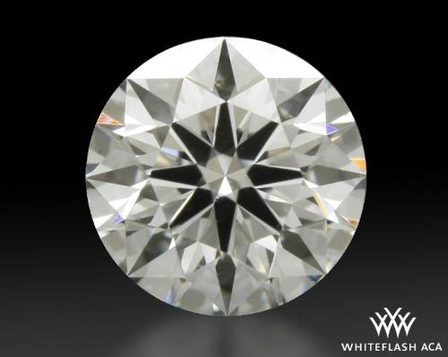 0.407 ct G SI1 A CUT ABOVE® Hearts and Arrows Super Ideal Round Cut Loose Diamond