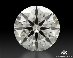 0.412 ct G VS1 A CUT ABOVE® Hearts and Arrows Super Ideal Round Cut Loose Diamond