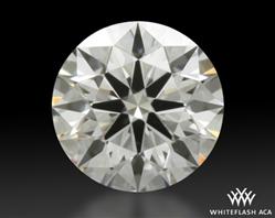 0.411 ct E VS1 A CUT ABOVE® Hearts and Arrows Super Ideal Round Cut Loose Diamond