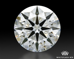 0.41 ct F VS1 A CUT ABOVE® Hearts and Arrows Super Ideal Round Cut Loose Diamond