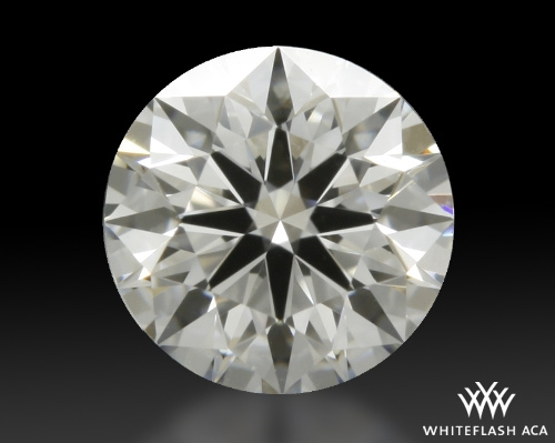 0.412 ct E VVS1 A CUT ABOVE® Hearts and Arrows Super Ideal Round Cut Loose Diamond