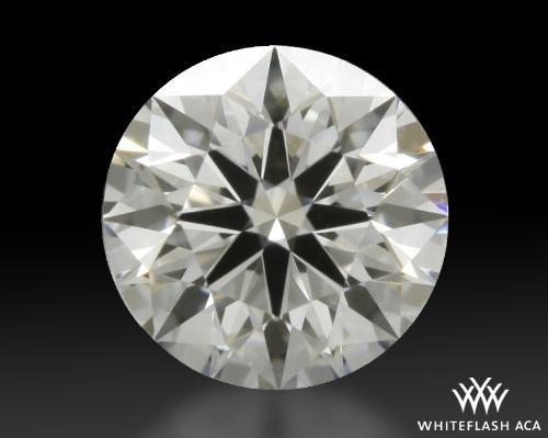 0.412 ct E VVS1 A CUT ABOVE® Hearts and Arrows Super Ideal Round Cut Loose Diamond
