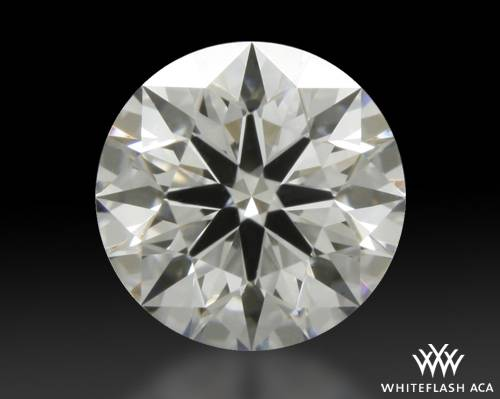 0.425 ct E VVS2 A CUT ABOVE® Hearts and Arrows Super Ideal Round Cut Loose Diamond