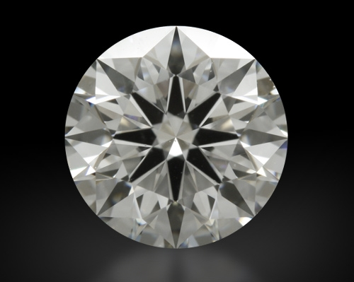 1.028 ct F VS1 A CUT ABOVE® Hearts and Arrows Super Ideal Round Cut Loose Diamond