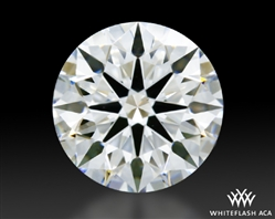 1.032 ct G VS1 A CUT ABOVE® Hearts and Arrows Super Ideal Round Cut Loose Diamond