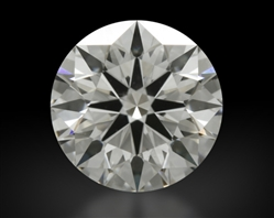 1.006 ct G VS2 A CUT ABOVE® Hearts and Arrows Super Ideal Round Cut Loose Diamond