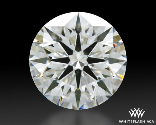 1.024 ct G SI1 A CUT ABOVE® Hearts and Arrows Super Ideal Round Cut Loose Diamond
