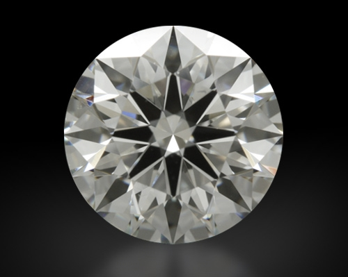 1.297 ct I VS2 A CUT ABOVE® Hearts and Arrows Super Ideal Round Cut Loose Diamond