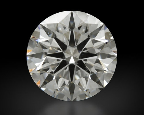 1.227 ct F SI1 A CUT ABOVE® Hearts and Arrows Super Ideal Round Cut Loose Diamond
