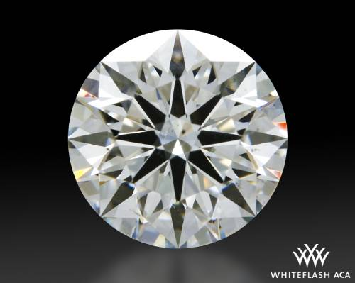 1.235 ct G SI1 A CUT ABOVE® Hearts and Arrows Super Ideal Round Cut Loose Diamond