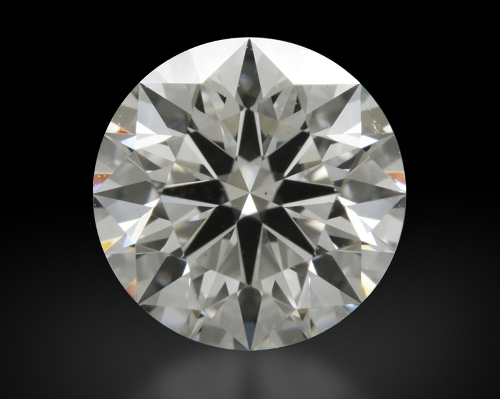 1.03 ct G VS2 A CUT ABOVE® Hearts and Arrows Super Ideal Round Cut Loose Diamond