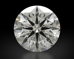 0.81 ct D SI1 A CUT ABOVE® Hearts and Arrows Super Ideal Round Cut Loose Diamond