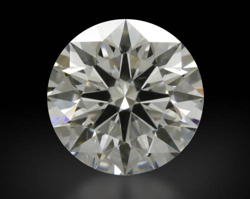 0.797 ct D SI1 A CUT ABOVE® Hearts and Arrows Super Ideal Round Cut Loose Diamond