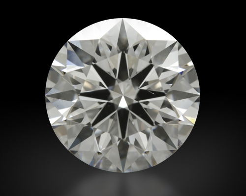 2.455 ct G VS2 A CUT ABOVE® Hearts and Arrows Super Ideal Round Cut Loose Diamond