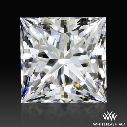 0.616 ct D VS1 A CUT ABOVE® Princess Super Ideal Cut Diamond