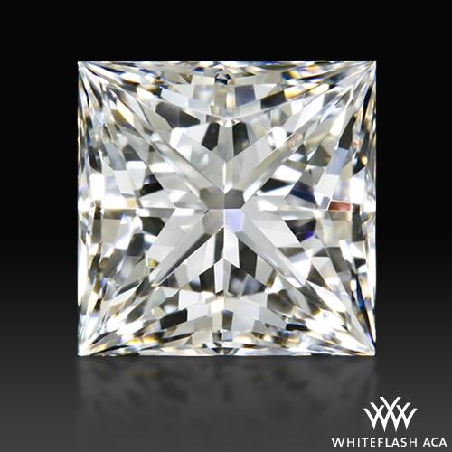 0.907 ct F VVS2 A CUT ABOVE® Princess Super Ideal Cut Diamond